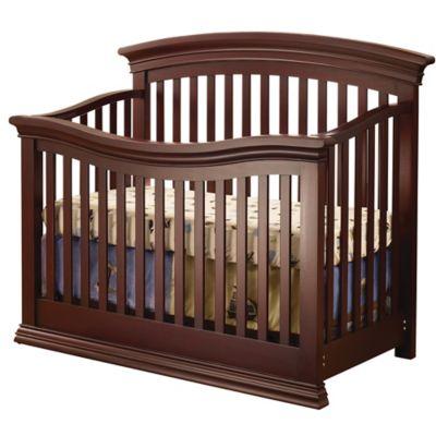 Sorelle Torino 4-in-1 Convertible Crib in Cherry