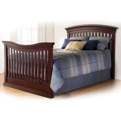 Sorelle Torino Full Size Bed Rails in Cherry
