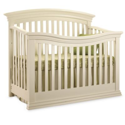 Sorelle Torino 4-in-1 Convertible Crib in French White