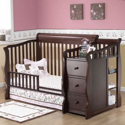 Sorelle Tuscany Toddler Guard Rail in Cherry