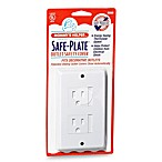 Mommy's Helper™ White Safe-Plate™ Decorative Outlet Cover