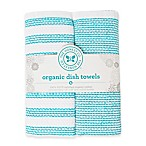 The Honest Company 2-Pack Dish Towels in Teal