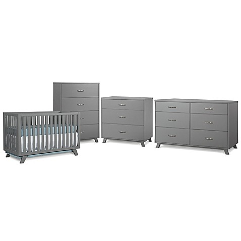 Child Craft Soho Nursery Furniture Collection In Grey Bed Bath Beyond