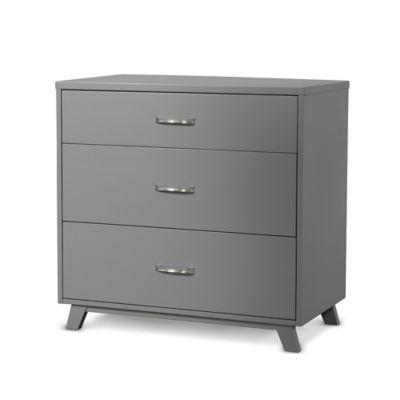 Child Craft™ SOHO 3-Drawer Chest in Grey