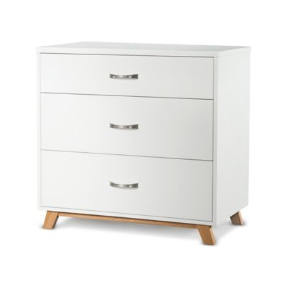 Child Craft™ SOHO 3-Drawer Chest in White/Natural