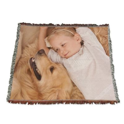 Woven Medium Photo Blanket