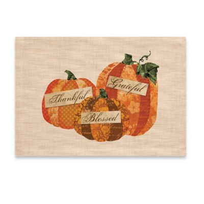 Heritage Lace® Pumpkin Patch Placemat in Natural