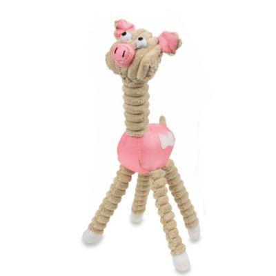 Jute and Rope Giraffe-Pig Pet Toy