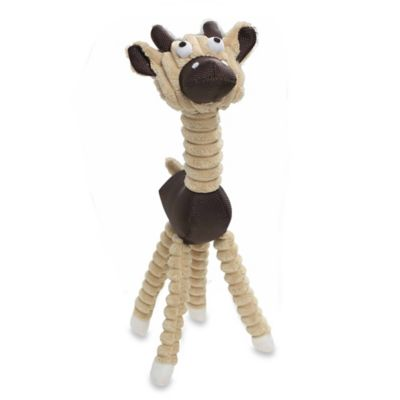 Jute and Rope Giraffe-Cow Pet Toy in Brown