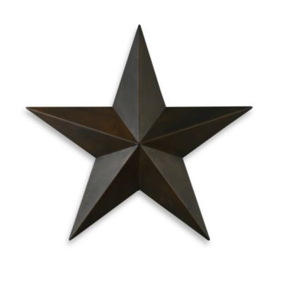 Rustic Star Wall Sconces : Rustic Metal Star - Bed Bath & Beyond