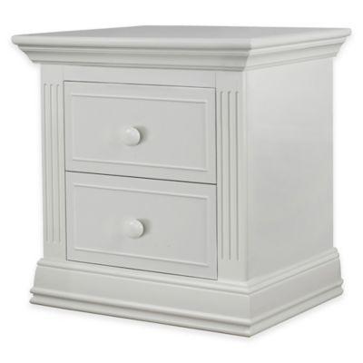 White Providence Nightstand