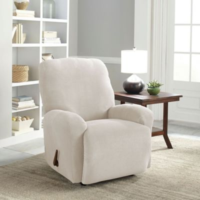 Perfect Fit® Easy Fit Recliner Slipcover in Grey