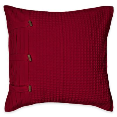 Park B. Smith Escondido European Pillow Sham in Cinnabar