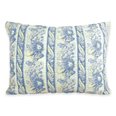 Park B. Smith Le Flaive Standard Pillow Sham in Denim
