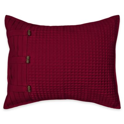 Park B. Smith Escondido Standard Pillow Sham in Cinnabar