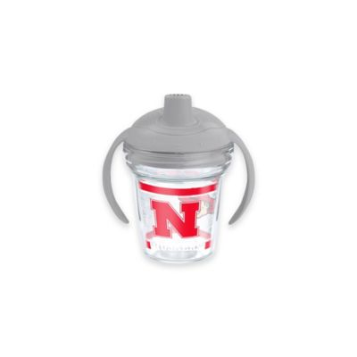 Tervis® My First Tervis™ NCAA University of Nebraska 6 oz. Sippy Design Cup with Lid