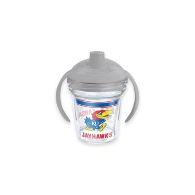 Tervis® My First Tervis™ NCAA University of Kansas 6 oz. Sippy Design Cup with Lid