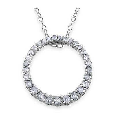 033 Cttw Diamond Pendant