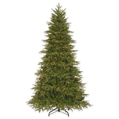 National Tree Company 7.5-Foot Northern Fraser Fir Pre-Lit Christmas Tree with Clear Lights