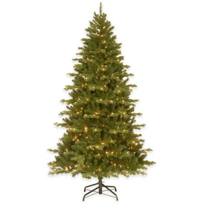 National Tree Company 7.5-Foot Sheridan Spruce Pre-Lit Christmas Tree with Clear Lights