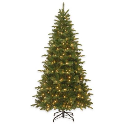 National Tree Company 7.5-Foot Everest Fir Pre-Lit Christmas Tree with Clear Lights
