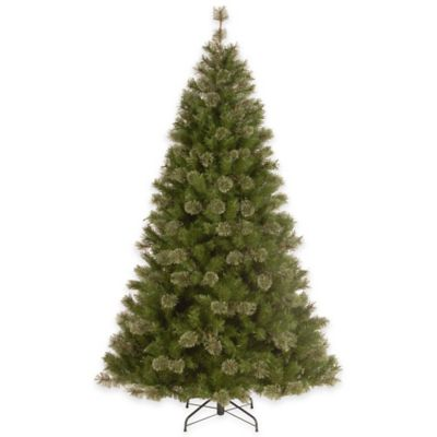National Tree 7.5-Foot Sarlanta Spruce Hinged Christmas Tree
