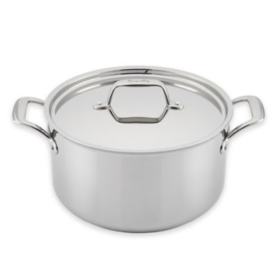 Breville® Thermal Pro™ Clad Stainless Steel 8-Quart Covered Stock Pot