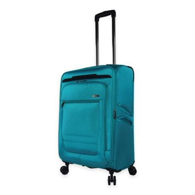 Traveler's Club Voyager 24-Inch Spinner in Teal