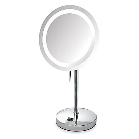 jerdon 8x led lighted vanity mirror