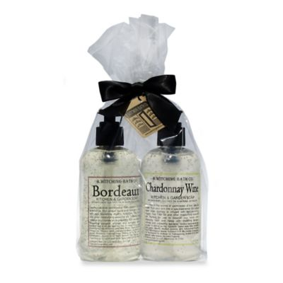 B. Witching Bath Co. Wine Lovers Liquid Soap Gift Set