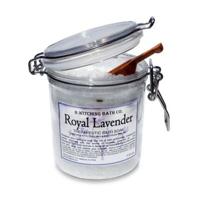 B. Witching Bath Co. Royal Lavender Bath Salt Soak