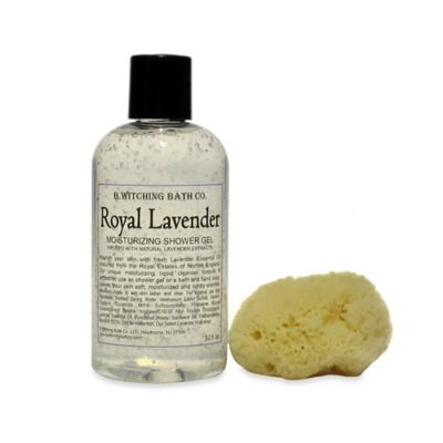 B. Witching Bath Co. Royal Lavender Shower Gel Gift Set