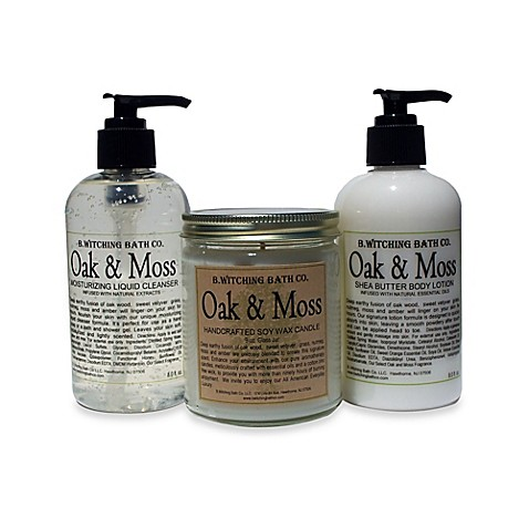 Buy B. Witching Bath Co. Oak and Moss Body Lotion, Liquid ...