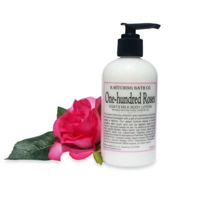 B. Witching Bath Co. One Hundred Roses Goat's Milk Lotion