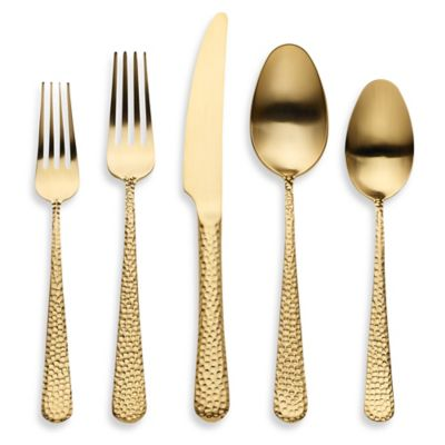 Herdmar® Montana 5-Piece Flatware Place Setting in Stainless Steel