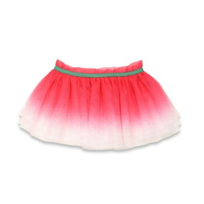 Baby Starters® Size 3M Ombre Tutu Skirt in Pink/Green