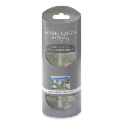 Yankee Candle® Scentplug® Clean Cotton® Refill (Set of 2)