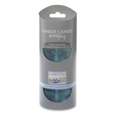 Yankee Candle® Scentplug® Beach Walk® Refill (Set of 2)