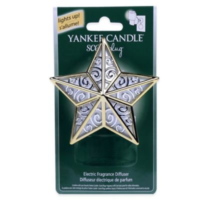 Yankee Candle® Scentplug Star Base in Silver/Gold
