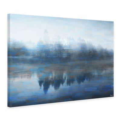 Parvez Taj Lake Marmont 45-Inch x 30-Inch Canvas Wall Art