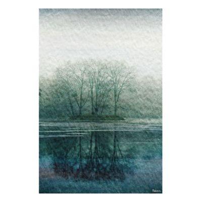 Parvez Taj Apple Lake 18-Inch x 12-Inch Canvas Wall Art