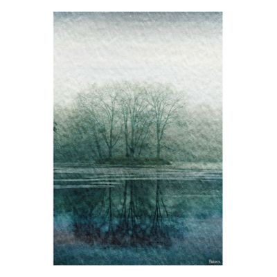 Parvez Taj Apple Lake 36-Inch x 24-Inch Canvas Wall Art