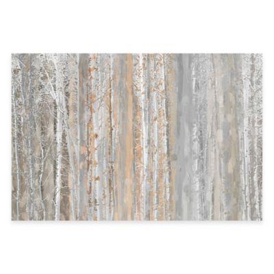 Parvez Taj Aspen Forest 60-Inch x 40-Inch Canvas Wall Art