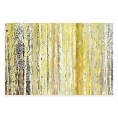 Parvez Taj Aspen Forest 2 36-Inch x 24-Inch Canvas Wall Art
