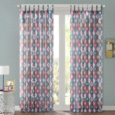 Regency Heights Jax 63-Inch Tab Top Window Curtain Panel
