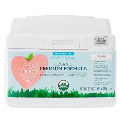 Honest 1.45 lb. Organic Premium Infant Formula