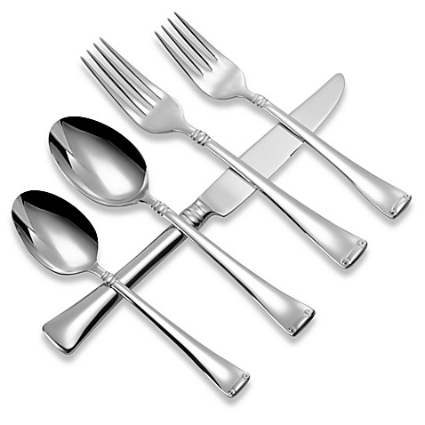 Buy 18 10 Stainless Steel Flatware Sets From Bed Bath
