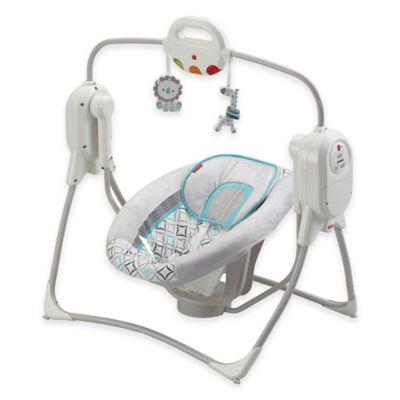 Fisher-Price® Twinkling Lights SpaceSaver Cradle 'n Swing in Star