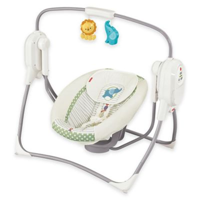 Fisher-Price® SpaceSaver Cradle 'n Swing in White