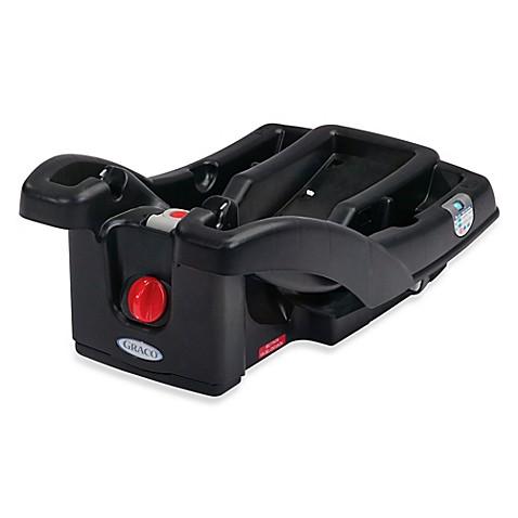 graco snugride click connect infant car seat base in black. Black Bedroom Furniture Sets. Home Design Ideas